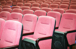 Cinema chair(click image to zoom) Stock Photos