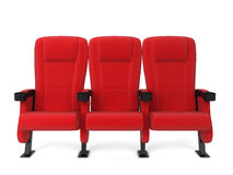 Cinema chair Royalty Free Stock Photography