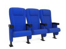 Cinema chair Royalty Free Stock Image