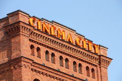 Cinema City. Shot of Cinema City logo Royalty Free Stock Images