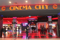 Cinema City Royalty Free Stock Photo
