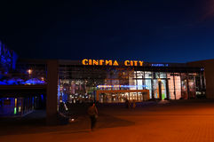 Cinema city Royalty Free Stock Image