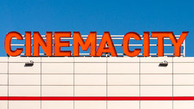 Cinema City logo Royalty Free Stock Image
