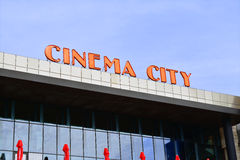 Cinema city Stock Photo