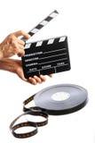Cinema clap Stock Image