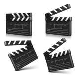 Cinema clap. Vector illustration.  Royalty Free Stock Photo