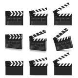 Cinema clap. Vector illustration.  Stock Photo