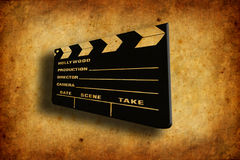Cinema clapboard Royalty Free Stock Images