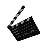 Cinema clapboard Stock Images