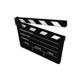 Cinema Clapboard Stock Photo