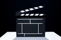 Cinema clapper Stock Images