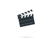 Cinema clapper board Stock Images