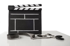 Cinema clapper Royalty Free Stock Images