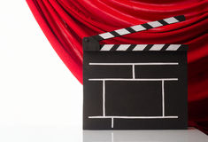 Cinema clapper Royalty Free Stock Photo