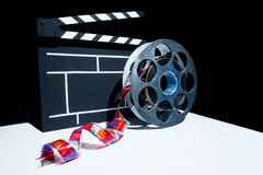 Cinema clapper Stock Image