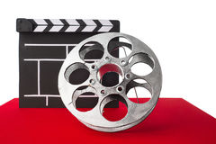 Cinema clapper Stock Photography