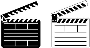 Cinema Clapper - Vector Royalty Free Stock Image