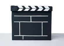 Cinema clapper Royalty Free Stock Photos