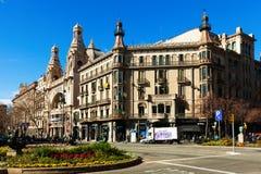 Cinema Coliseum in Barcelona Stock Photo