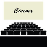 Cinema color illustration Stock Photography