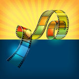 Cinema. Colored background on the topic of cinema Royalty Free Stock Photos