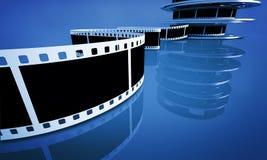 Cinema concept royalty free illustration