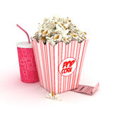 Cinema concept Royalty Free Stock Images