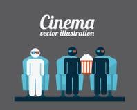 Cinema concept Royalty Free Stock Photo