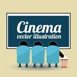 Cinema concept Royalty Free Stock Image