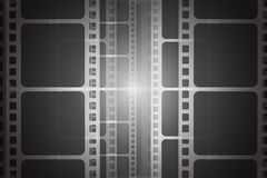 Background with film strip. Cinema concept vector illustration. Cinema concept vector illustration. Background with film strip Royalty Free Stock Photos