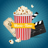 Cinema concept. Vector Royalty Free Stock Images