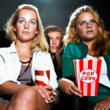 Cinema crowd Stock Photo