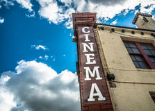 Cinema d'annata Immagini Stock Libere da Diritti