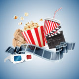 Cinema 3d Royalty Free Stock Photo