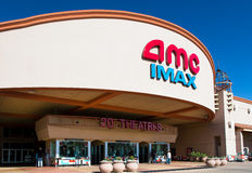 Cinema de AMC IMAX Foto de Stock Royalty Free