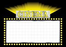 Cinema de Deco Fotografia de Stock Royalty Free