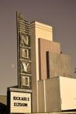 Cinema de Willits Imagem de Stock Royalty Free