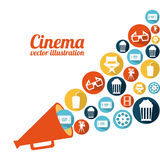 Cinema design Stock Images
