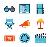 Cinema design Stock Image