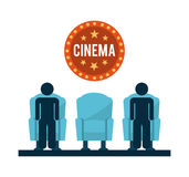Cinema design Stock Photos