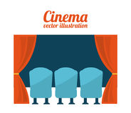 Cinema design Royalty Free Stock Photography