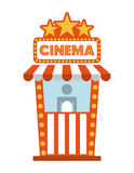 Cinema design Stock Photography
