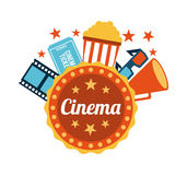 Cinema design Stock Photo