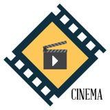 Cinema design. Cinema digital design, vector illustration 10 eps graphic Stock Images