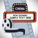 Cinema design Stock Photography