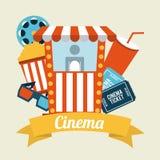 Cinema design Royalty Free Stock Images