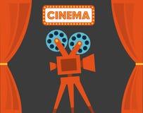 Cinema design Royalty Free Stock Image
