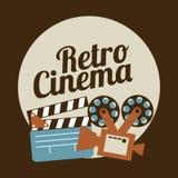 Cinema design Stock Image