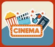 Cinema design Stock Photos