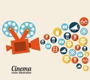 Cinema design Stock Photo